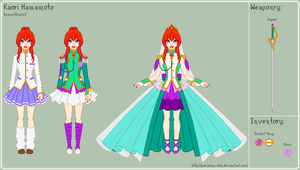 RGU - Kaori Reference Sheet by porcelian-doll