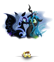 Nightmare Moon has a Crush?   o.O by Chasm03