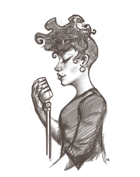 Jazz Singer by Some1Silly