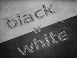 Black n' White by desigz
