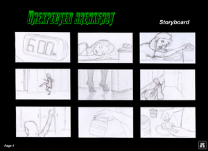 Unexpected Breakfast Storyboard (Page 1) by JPGArt