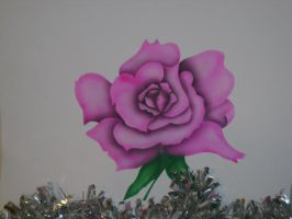 Airbrushed Rose by lilLostKitten