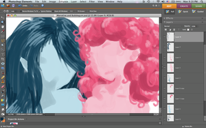 WIP Preview Marceline and BG by packAndwhite241993