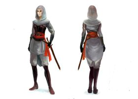 Assassin's Creed woman concepr (v. 2.0) by Raeneris