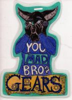 Gears Badge ~~Commission~~ by EyonSplicer