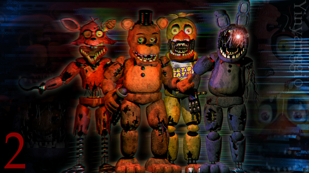 C4D| The Gang by YinyangGio1987