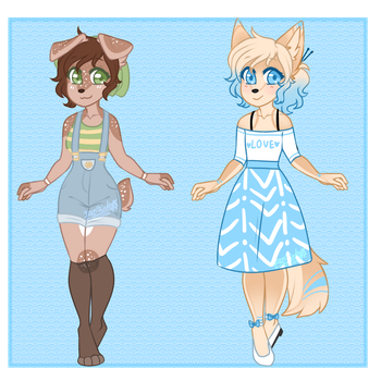 Adoptable Batch #2 by SpaceRaindrops