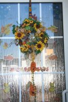 My selfmade autumn  wreath by ingeline-art