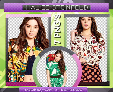 Haliee Steinfeld Pack PNG 001 by Mainif