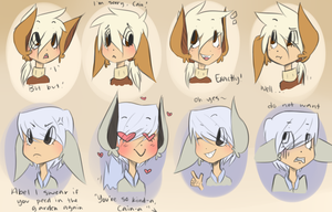 Expression practice by jinuro