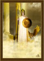 Goddess Athena by Umina
