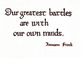Our greatest battles by Itti