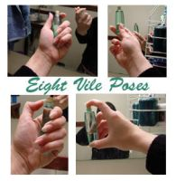 8 Vile Poses by Treeclimber-Stock