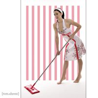 Cleaning Lady by Ego-Shooter