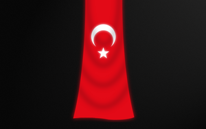 Turkish Flag 2 by h2okerim