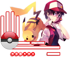 Pokemon Rainmeter by SlasherZX360