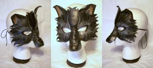 Snouted Wolf Mask by MirabellaTook
