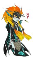 Midna Little Sister by ManiacPaint