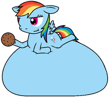 Suggestion: Rainbow Dash by Ambipucca