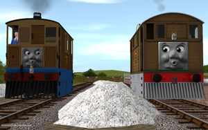 Railway Series meets Television Series: Toby by Sergeant-Sunflower