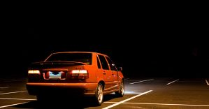 Volvo S70 Rear by Project-Ian-Carr