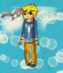 AT: Link and Seagull by TeLinkfan1