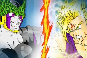 Gohan beats Cell by Asprine