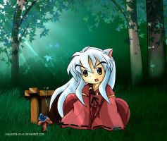Little InuYasha by Inuyasha-no-e