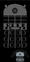 Dr.Who Dalek Costume T Shirt by Enlightenup23