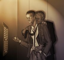 Mystrade in lift by di-anka