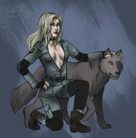 Leader of Her Pack by ReaperClamp