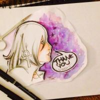Galaxy Girl by SweetlyViolent