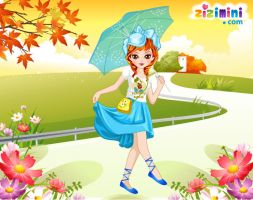Cute Girl Dressup by zizimini