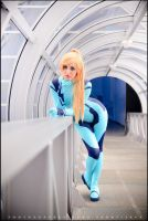 Samus Aran Zero Suit by RainbowMissy