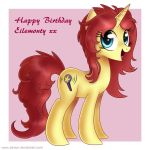 Happy Birthday Eilemonty!!! by Jrenon