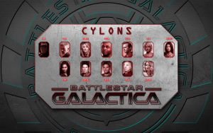 Cylon Models 2.0 by MitchellLazear