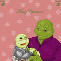 Hamato Holiday by bugsytrex