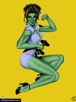 She-Hulk Colors by My Husband by lovelyzitalee