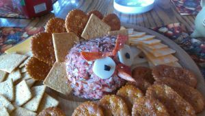 Turkey Angry Bird Cheese Ball by AlkseeyaKC