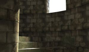 medieval stairs 1 by 3dchris89