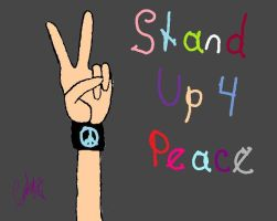 StAnD uP 4 pEaCe by XxPoisonlollypopxX