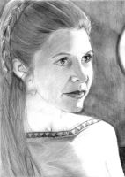An Older Leia by khinson