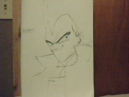 Vegeta in casual clothes by foxtrot20