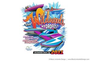 Hydroplane Racing T-Shirt by MWorrell