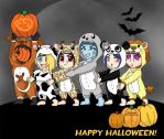 Halloween Congo Line by ToonTwins