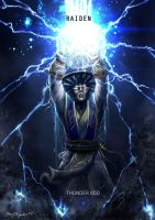 Mortal Kombat X Raiden Thunder God by Grapiqkad