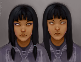 Eska and Desna by bablar