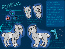 Robin Ref Sheet 2012:. by bambifawnluv