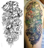 Alice half sleeve finished by Cogitat