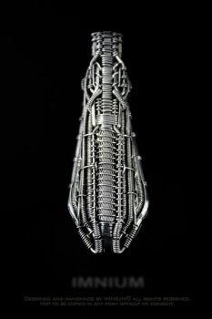 Space ship pendant by IMNIUM